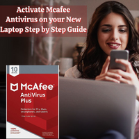 Activate Mcafee Antivirus on your New Laptop Step by Step Guide