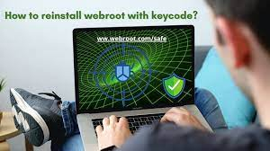 How to reinstall webroot SecureAnywhere with a keycode