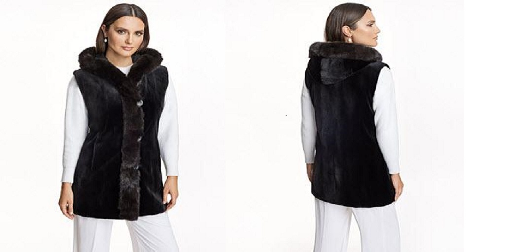 How To Dress a White Fur Vest